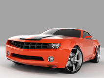 Concept 2009 de Chevrolet Camaro Image libre de droits