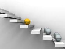 Concept 3 van de concurrentie Stock Afbeeldingen
