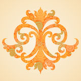 Concept abstract autumn pattern. Element for design. Designer toolkit. It can be used for decorating of invitations, greeting cards, decoration for bags and Stock Illustration