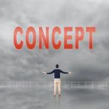 Concept of abstract concept Royalty Free Stock Photos