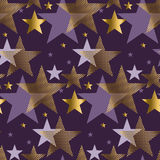 Concept abstract starry night vector illustration. Royalty Free Stock Images