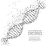 Concept abstrait d'ADN Photographie stock libre de droits