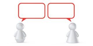 Concept abstrait de communication Illustration Libre de Droits