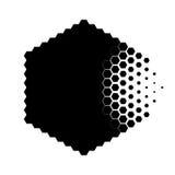 Concept abstrait de particule de destruction illustration de vecteur