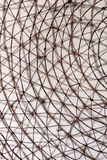Concept abstrait - texture - barbelé - métal - filet Photos stock