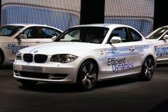 Concept ActiveE de BMW au Salon de l'Automobile de Paris Photographie stock