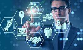The concept of agile software development Royalty Free Stock Photography