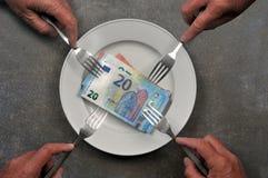 Concept alimentatie stock afbeelding