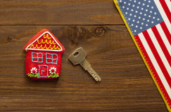 Concept of American house Stock Images