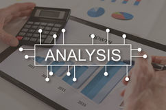 Concept of analysis Stock Photography