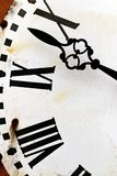 Concept antique de coutil de gestion du temps d'horloge de temps vieux images libres de droits