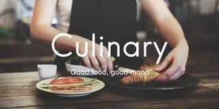 Concept appétissant de cuisine délicieuse piquante de nourriture photographie stock libre de droits