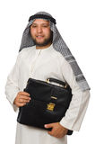 Concept with arab man Royalty Free Stock Image