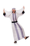 Concept with arab man Stock Photography