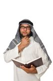 Concept with arab man Royalty Free Stock Images