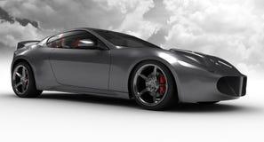 Concept argenté de véhicule Image stock