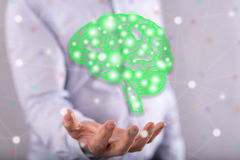 Concept of artificial intelligence Royalty Free Stock Photography