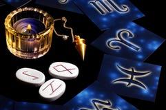 Concept astrologique photos stock