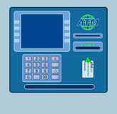 Concept of atm Royalty Free Stock Images
