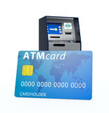 Concept of atm Stock Images