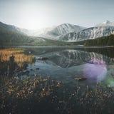 Concept attrayant de destination de voyage de nature de la Mongolie photos stock