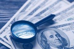 Concept au sujet d'argent Photo stock