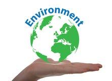 Concept au sujet d'environnement Image stock