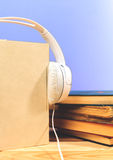 Concept of audiobook Royalty Free Stock Images