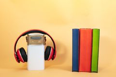 Concept Audiobooks royalty free stock images