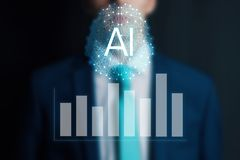 Free Concept Augmented Analytics. Business Analytics And Financial Technology Concept. AIArtificial Intelligence And Smart Analytics Stock Image - 156826001