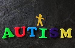 Concept autiste d'enfant Images libres de droits