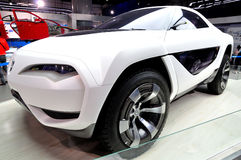 Concept Automobile. Chana E301 SUV Concept from Chongqing Changan Automobile, which is a 2-door 3-seat sport SUV designed for youth who are chasing for trend Royalty Free Stock Photos