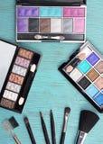 Concept avec des cosmétiques Photos libres de droits