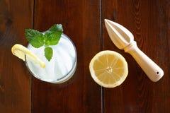 Concept avec la limonade photos libres de droits
