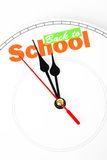 Concept of back to school Royalty Free Stock Photo