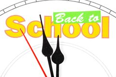 Concept of back to school Royalty Free Stock Photography