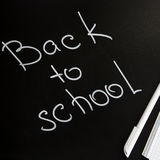 Concept back to school - school or student accessories royalty free stock photography