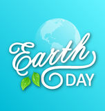 Concept Background for Earth Day Holiday Royalty Free Stock Photography
