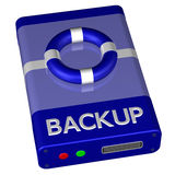 Concept - Backup Royalty Free Stock Photography