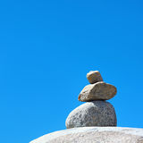 Concept of balance and harmony Royalty Free Stock Images