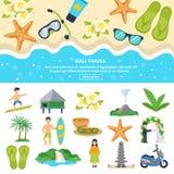 Concept Bali Travel Stock Image
