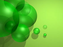 Concept balls. Some green balls, good to use as a background Royalty Free Stock Image