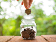 Concept of banking, finance and savings. Royalty Free Stock Photography