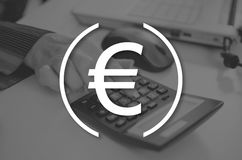 Concept of banking Royalty Free Stock Photo