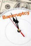 Concept of bankruptcy Stock Photos