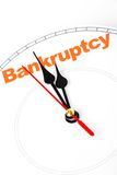 Concept of bankruptcy Royalty Free Stock Photo