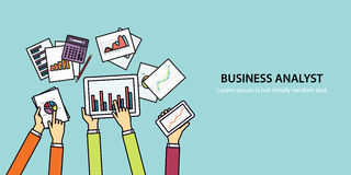 Concept banner for business finance and investment concept Royalty Free Stock Image