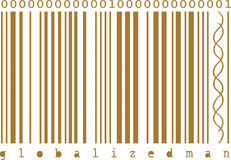 Concept bar code Royalty Free Stock Photography