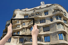 Concept of Barcelona Architecture Stock Photos