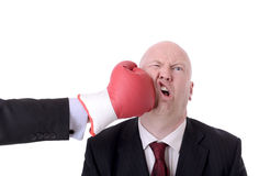 Business fight Stock Photo